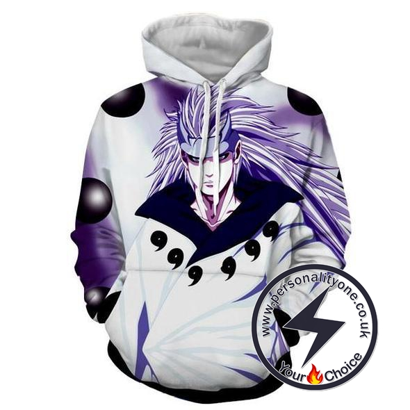 Naruto - Madara Ten Tails Battle Mode - Naruto Hoodies