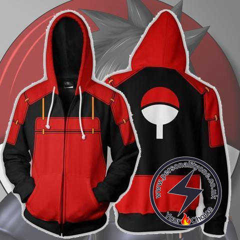 Naruto - Madara Uchiha Zip Up - Hoodies Jackets