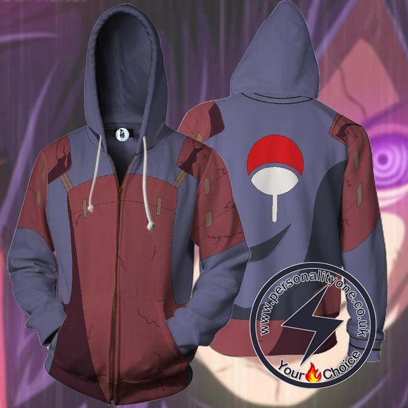 Naruto - Madara Zip Up - Hoodies Jackets