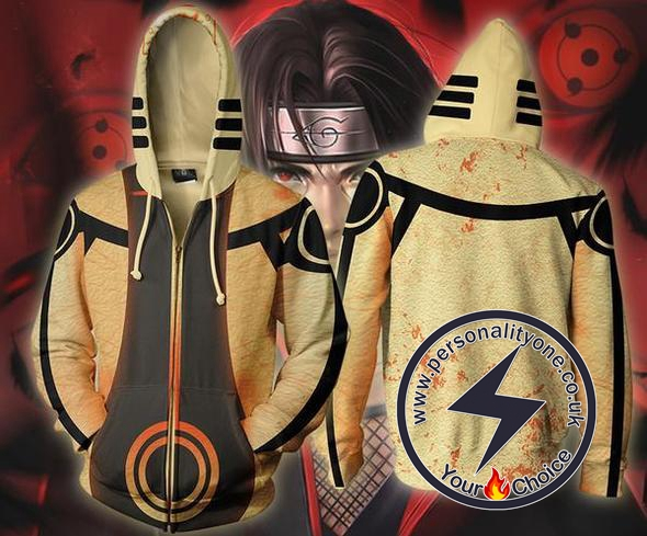 Naruto - Naruto Nine Tails Chakra Zip Up - Hoodies Jackets