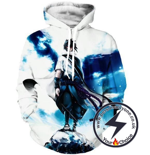 Naruto - Sasuke Zip Up - Hoodies