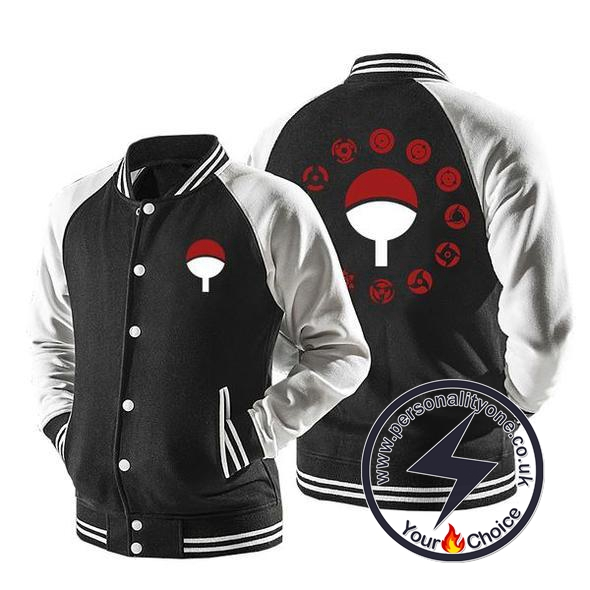 Naruto - Uchiha Clan Sharingan Zip Up - Jackets