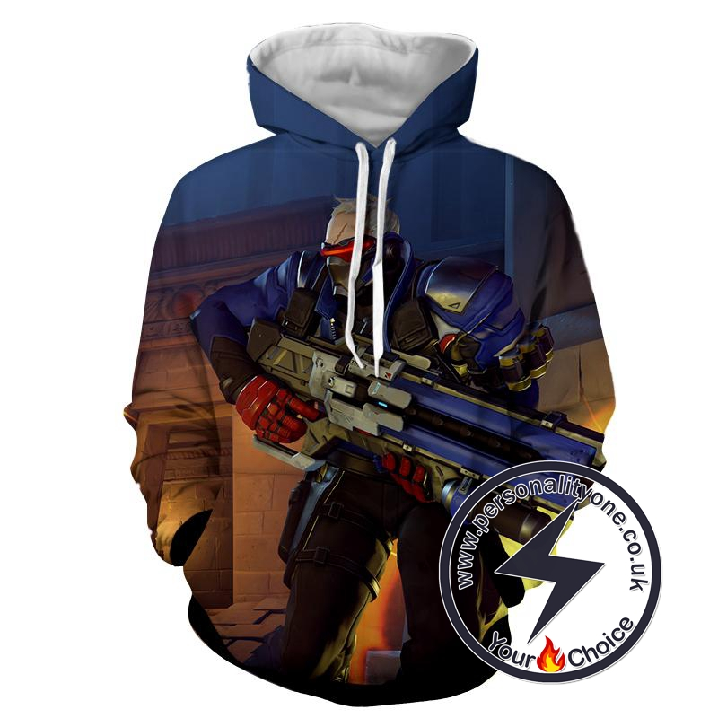Overwatch - Overwatch Sweat Shirt - Overwatch Hoodies