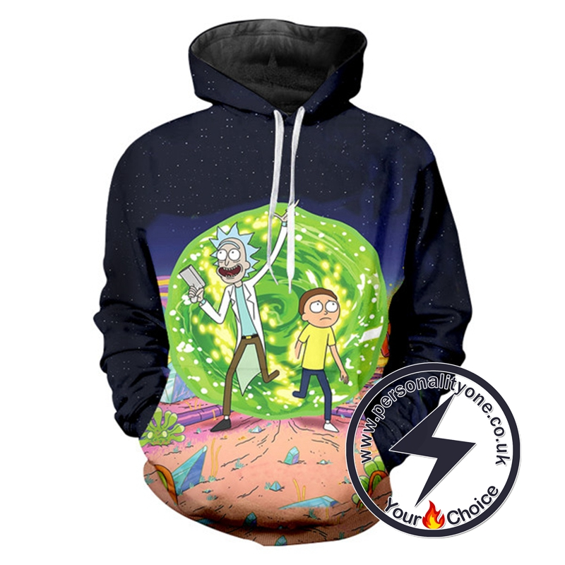 Rick And Morty Special Hoodie