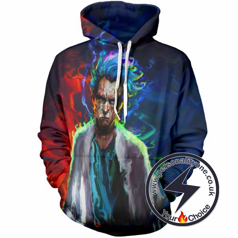 Rick Sanchez New Look Awesome Hoodie