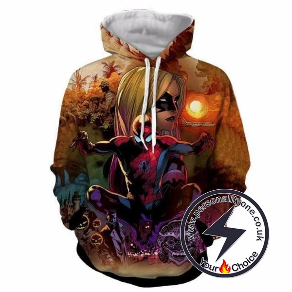 SPIDERMAN ActionWebbed 3D Hoodies - ZIP UP - SPIDERMAN 3D