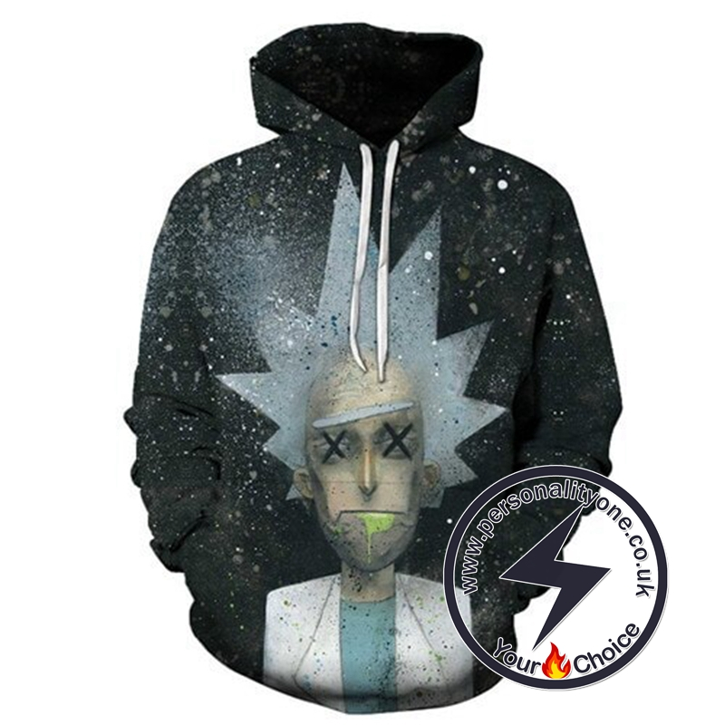 SWAG Rick Sanchez 3D Printed Hoodies