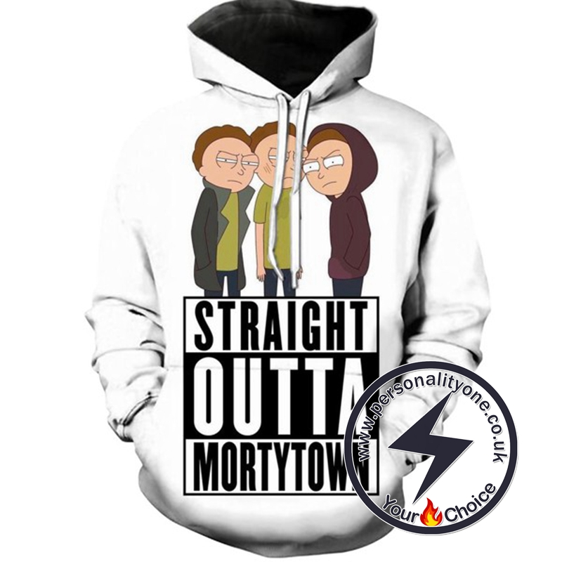 Straight Outta Morty Town Hoodie