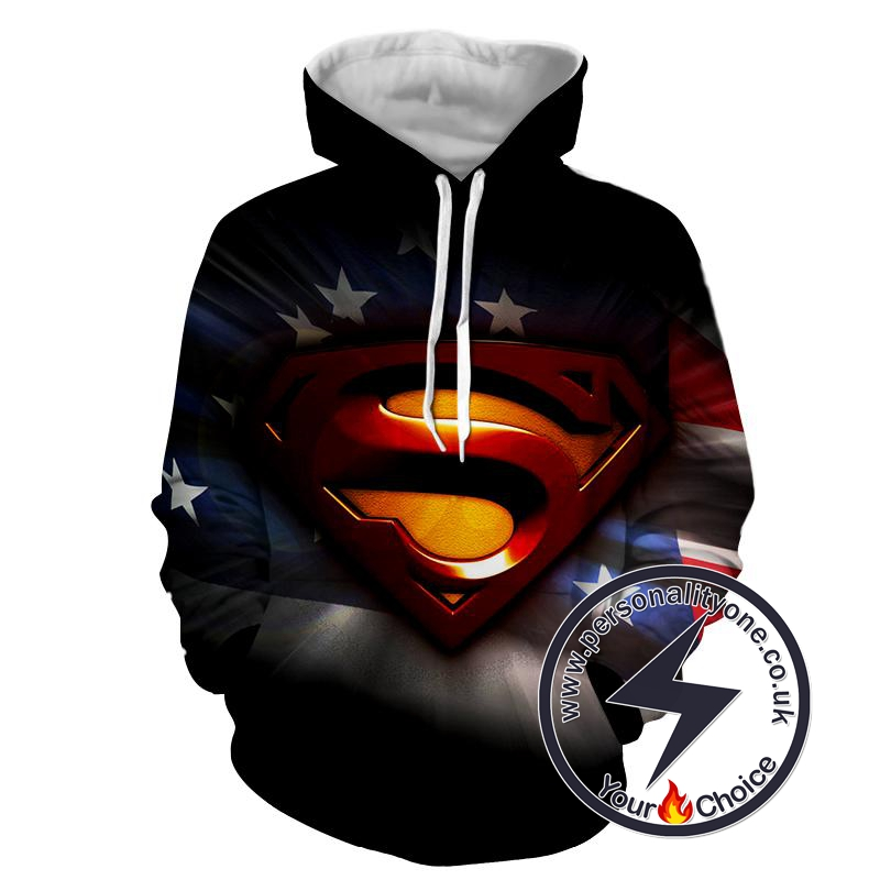 Superman - Superman Sweat Shirt - Superman Hoodies