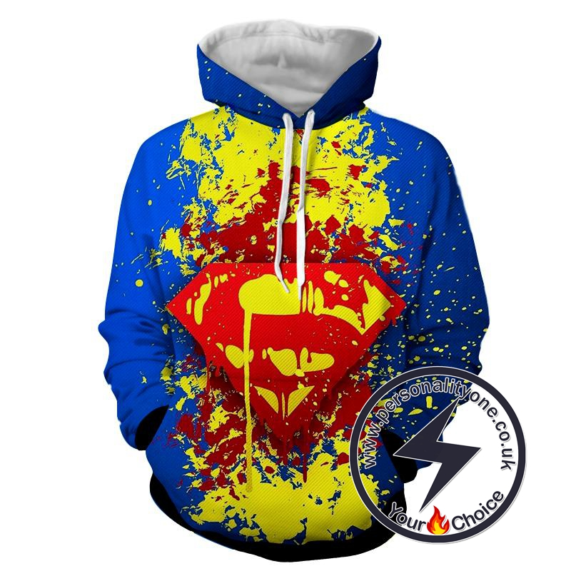 Superman logo - Superman Sweat Shirt - Superman Hoodies