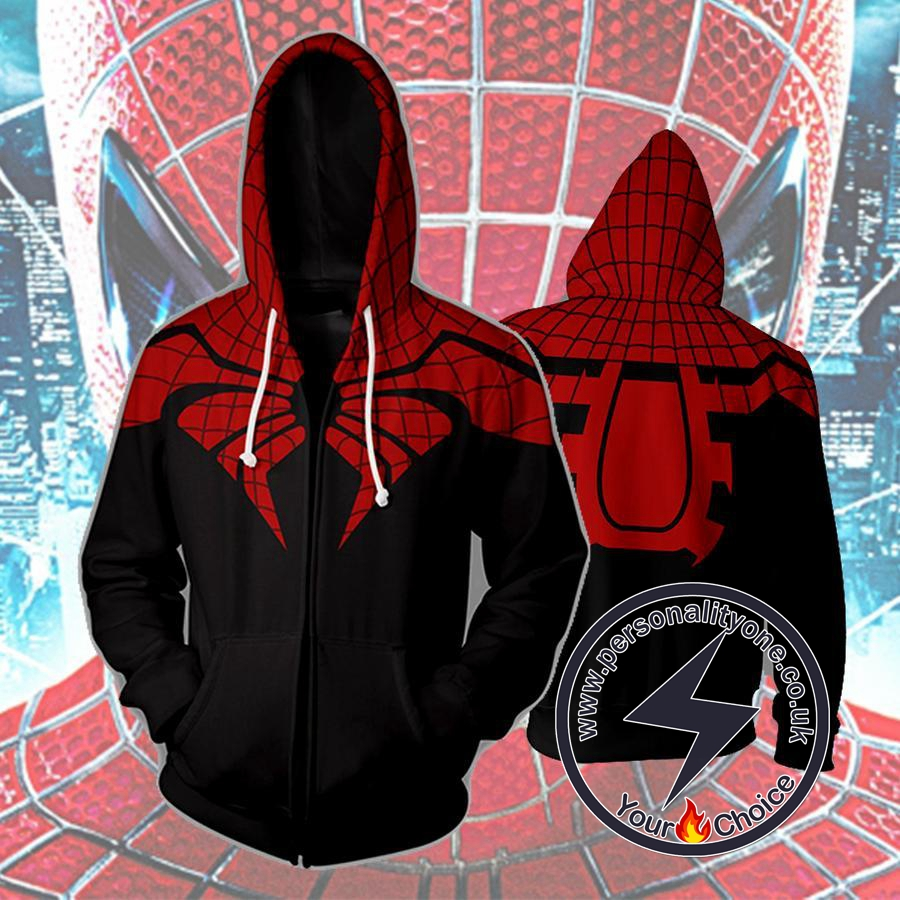 THE SUPERIOR SPIDER 3D Hoodies - ZIP UP - SPIDERMAN 3D