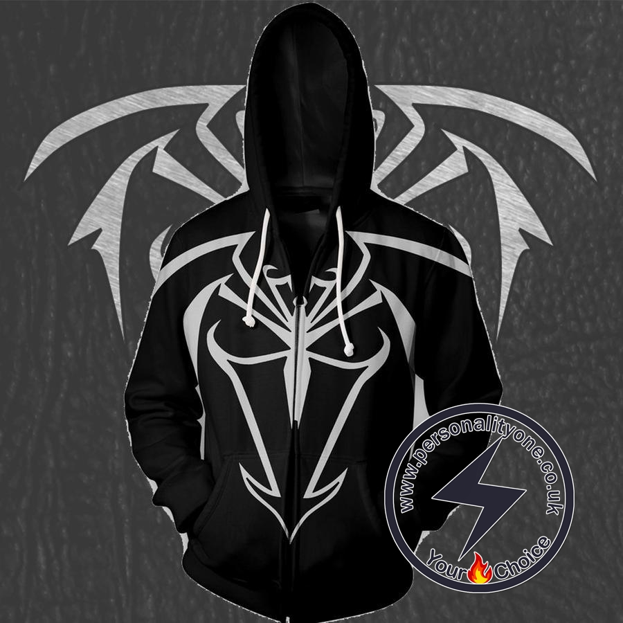 UNLIMITED SYMBIOTE SPIDERMAN 3D Hoodies - ZIP UP - SPIDERMAN 3D