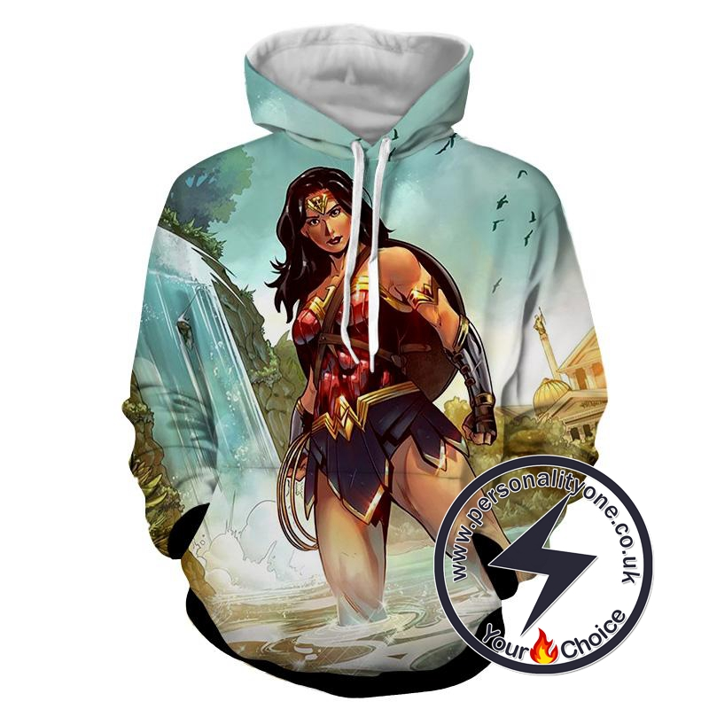 Wonder Women - Wonder Women 3D - Hoodies