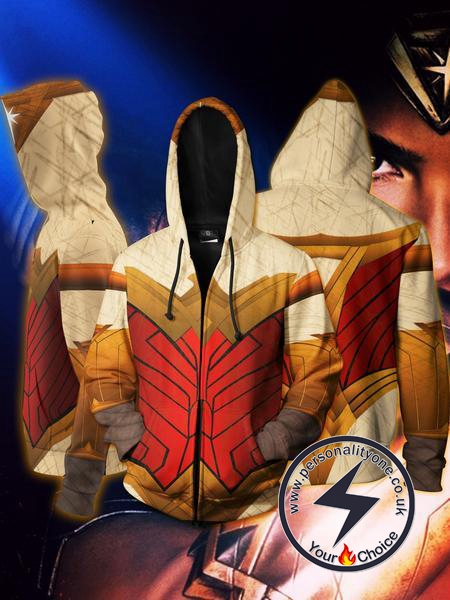 Wonder Women - Wonder Women ZipUp 3D - Wonder Women Hoodies Jackets