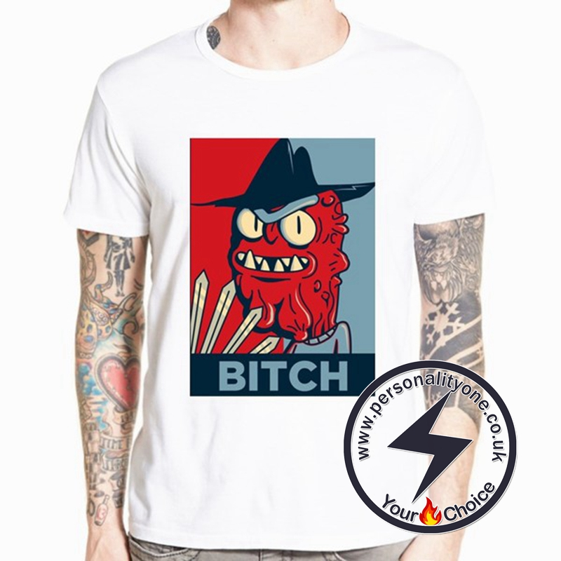 Blue & Red Bitch T-shirt