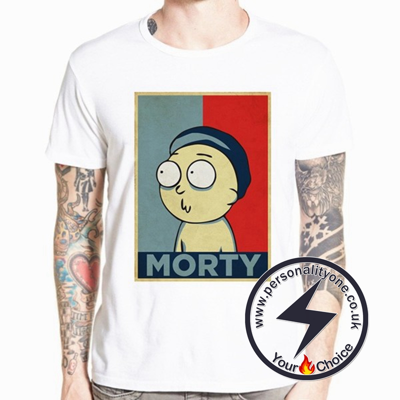 Blue & Red Morty T-shirt