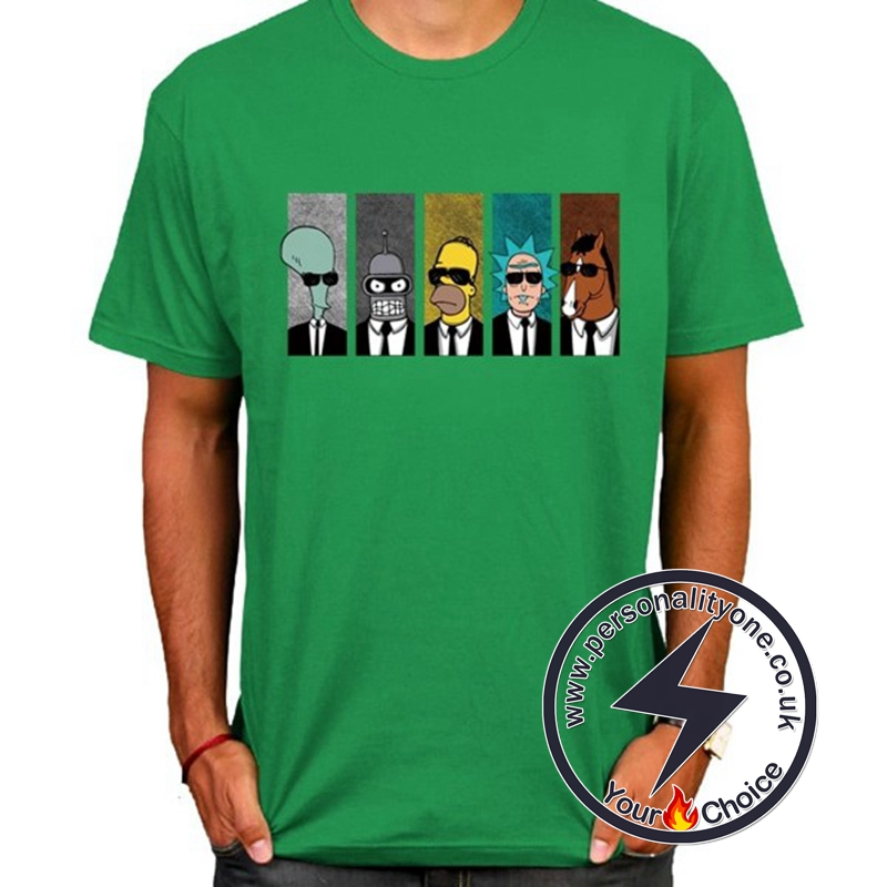 Hot Rick And Morty Cool T-shirt green
