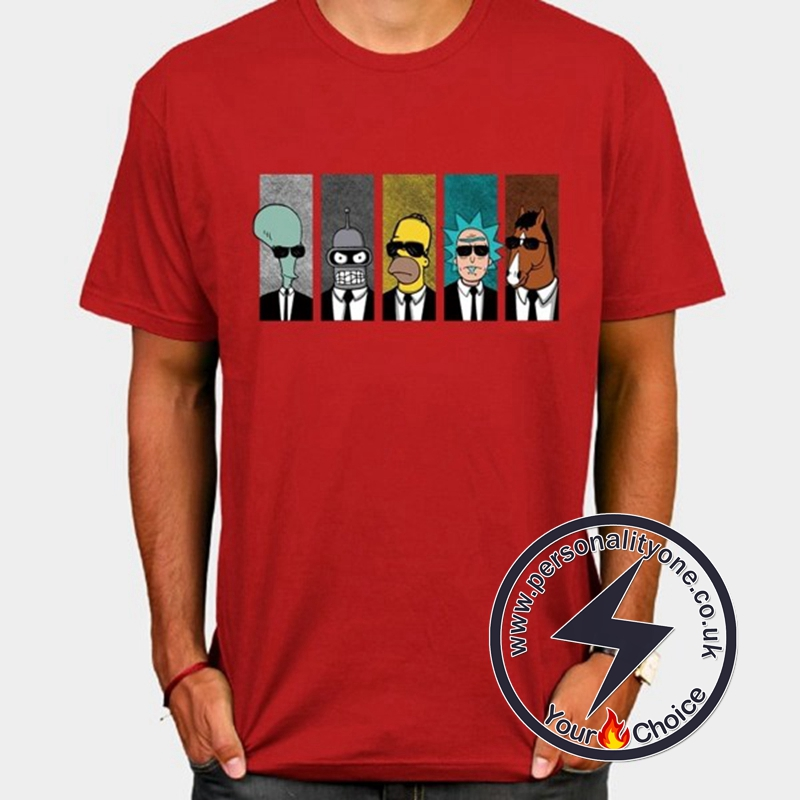 Hot Rick And Morty Cool T-shirt red