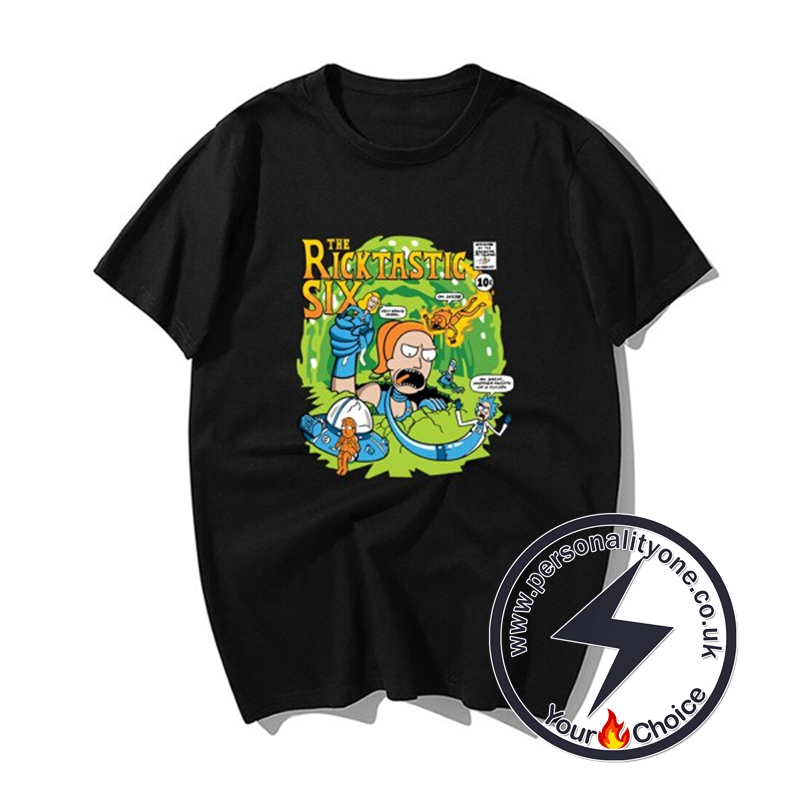 New Rick &Morty Super Cool T-shirts black