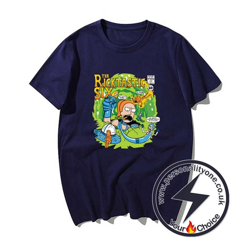 New Rick &Morty Super Cool T-shirts purple