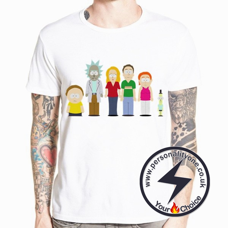 Rick And Morty Family T-shirt