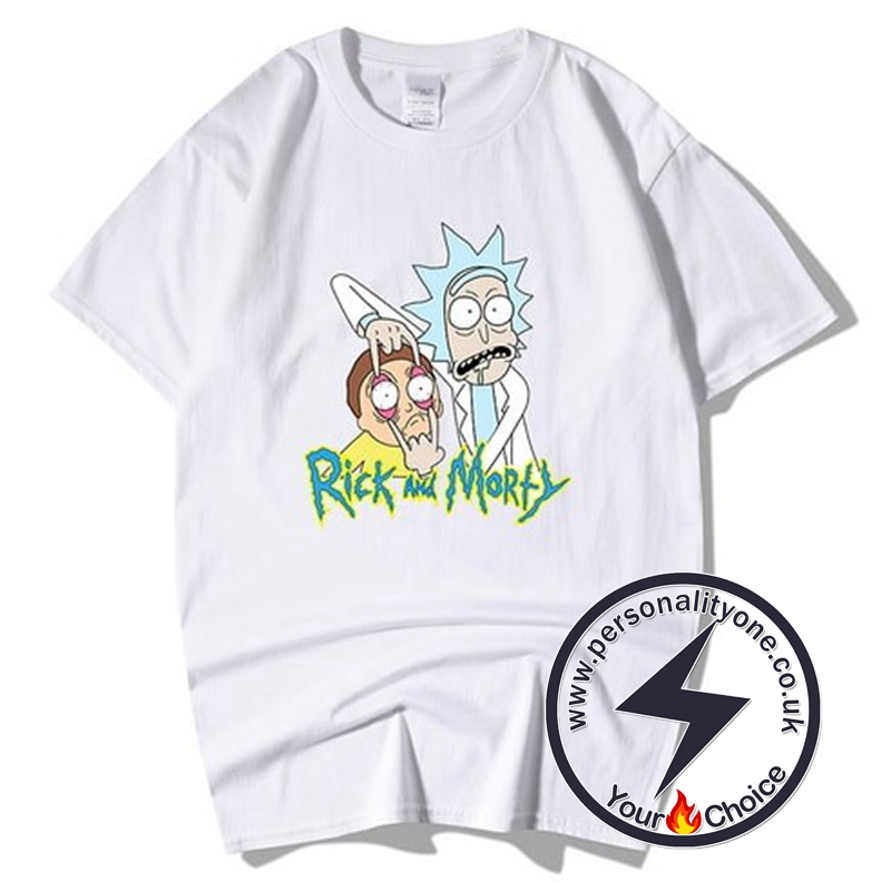 Summer Rick And Morty T-shirts white