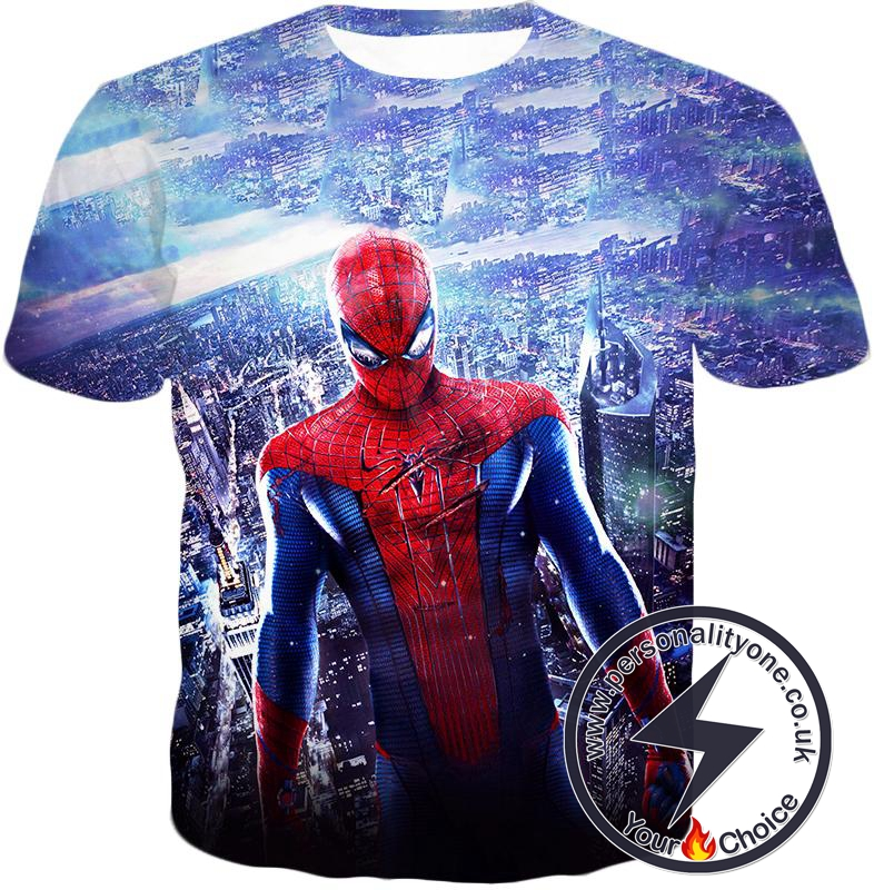 Amazing Spiderman Cool Movie Promo T-Shirt