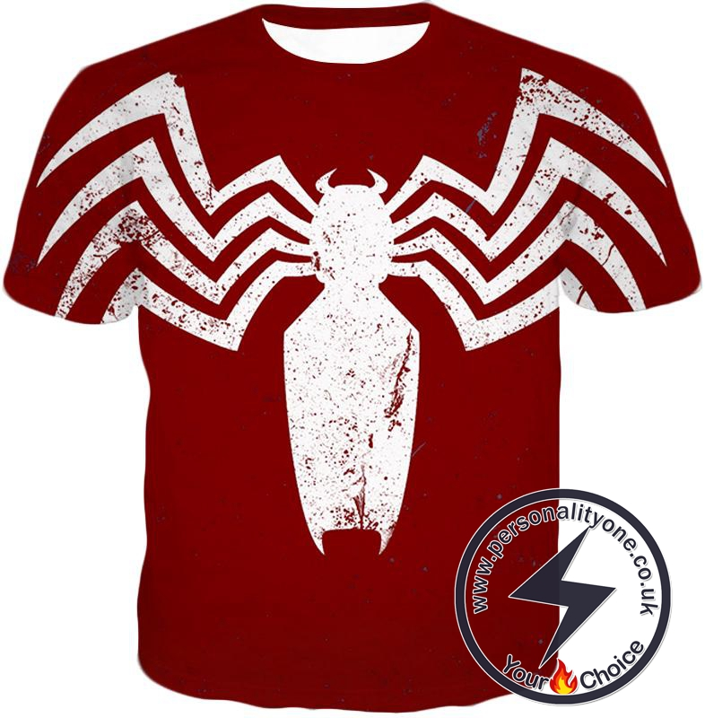 Cool Spiderman Logo Promo Red T-Shirt