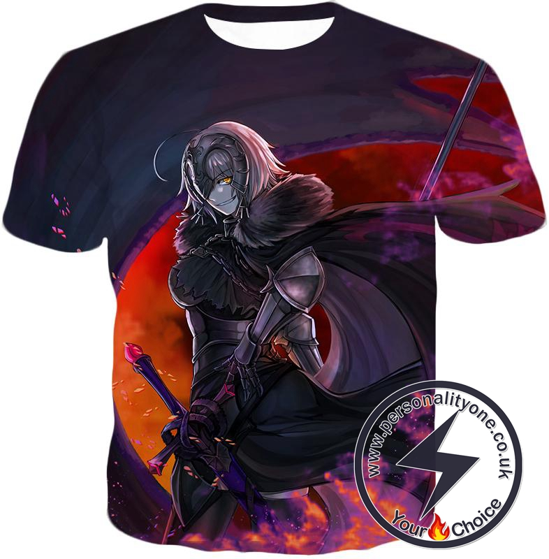 Fate Stay Night Fate Grand Order Ruler Jeanne Alter Avenger T-Shirt