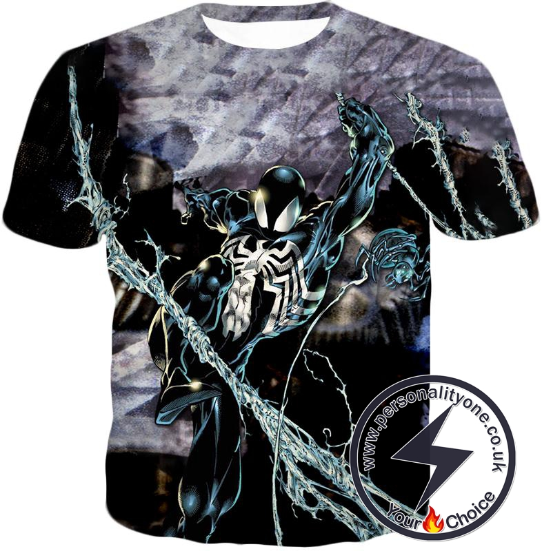 Incredible Animated Venom Cool Action T-Shirt