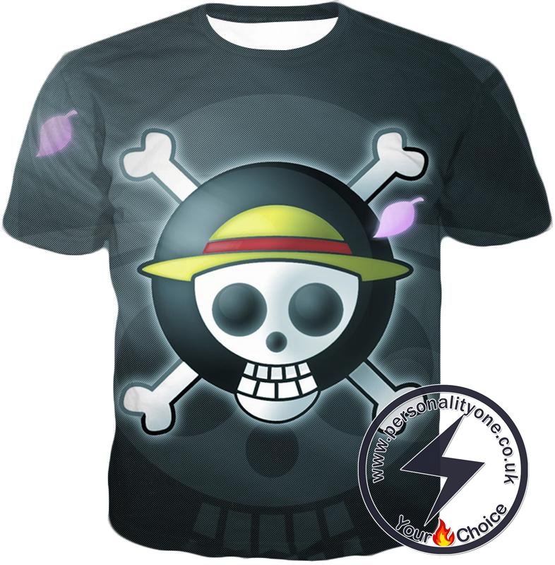 One Piece Super Cool Straw Hat Pirate Logo Promo T-Shirt