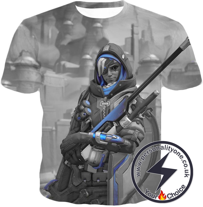 Overwatch Ultimate Sniper Support Hero Ana T-Shirt