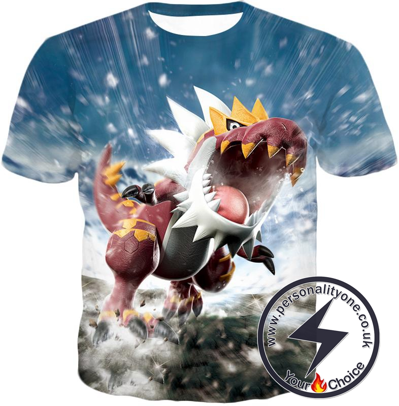 Pokemon Legendary Rock Dragon Fossil Pokemon Tyrantrum Cool