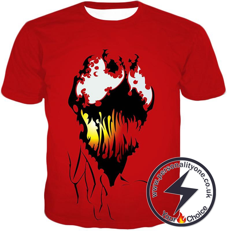 Spiderman Villain Cool Carnage Blood Red T-Shirt